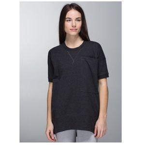 Lululemon Mudra sweatshirt dark grey